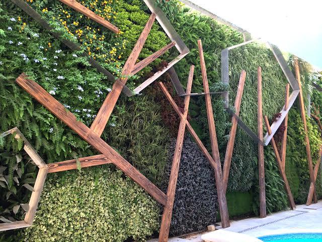 façade - jardin vertical