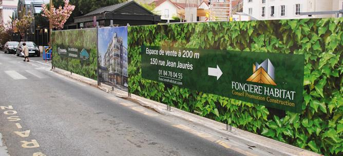 cloture-chantier-decoration-vegetale-promotion-immobiliere