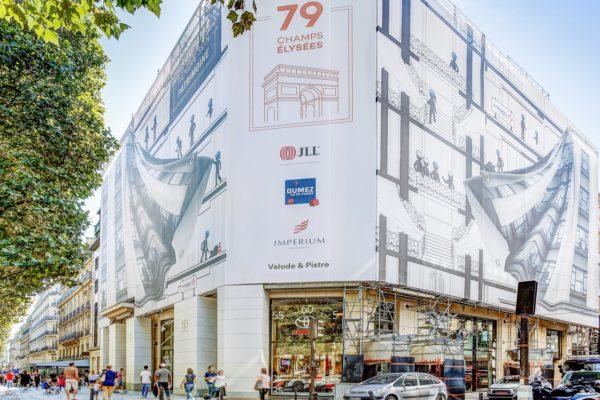 Habillage façade - Bache grand format