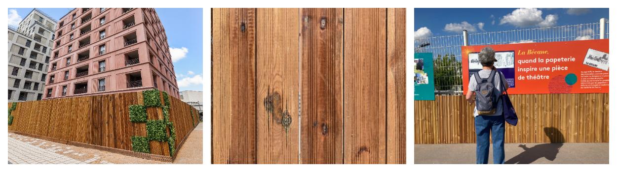 Le bois : matériau de construction… et de communication !